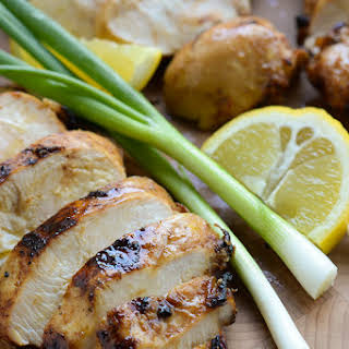 Ginger Teriyaki Grilled Chicken Breasts.