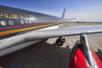 Photo: Royal Jordanian Airlines is one of four foreign-flag carriers serving Detroit Metro Airport (DTW), with non-stop service to Amman (AMM).  Detroit is one of Royal Jordanian's three U.S. gateways--along with New York (JFK) and Chicago (ORD).  CREDIT: Wayne County Airport Authority/Vito Palmisano.