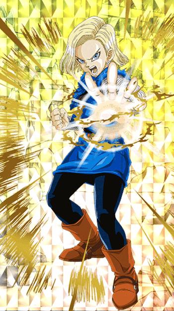 破壊の暴走・人造人間18号(未来)