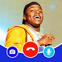 DaBaby Fake Video Call & Chat Simulator icon