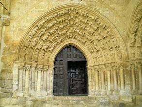 Photo: Etapa 15. Porta Sud. Iglesia de Santa Maria la Blanca. Villalcazar de Sirga
