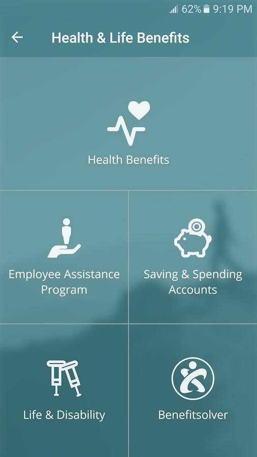 HealthySteps Benefits App- screenshot