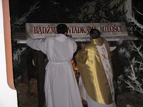 Photo: i już w liturgii Narodzony...