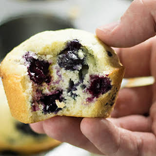 Easy Blueberry Muffins.