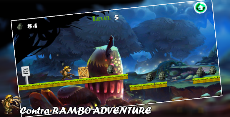 Enemies Of Rambo - screenshot