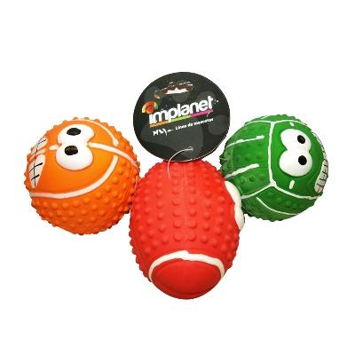 accesorio para mascotas implanet pelotas colores