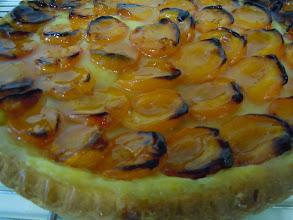 Photo: tarte sucrée aux abricots