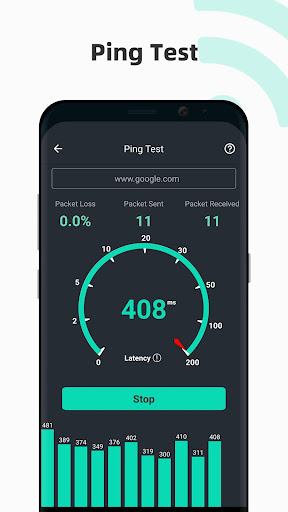Free Internet speed test screenshot 6