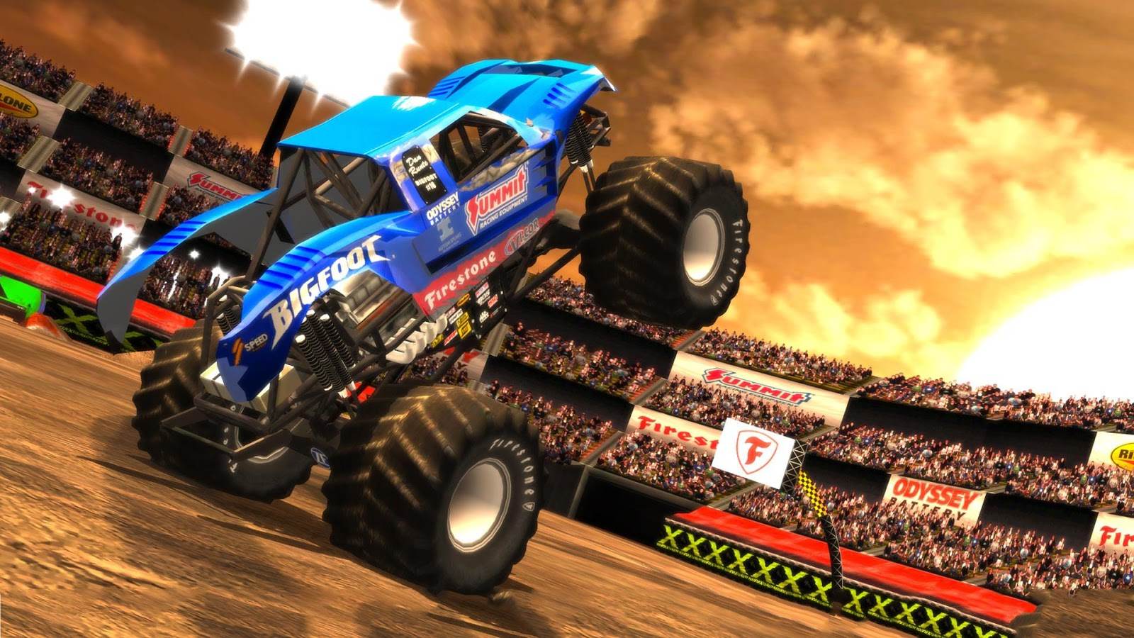 Monster Truck Destruction™- screenshot