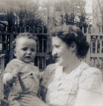 Photo: Fr. Jim and his mother Mary Naughton 1939
