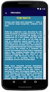 Tom Waits - píseň a texty - náhled