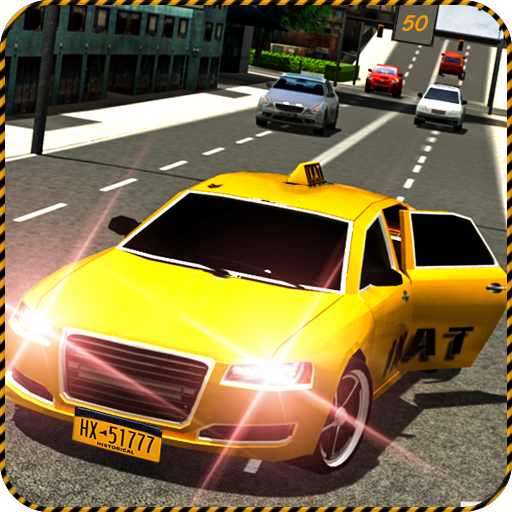 New York Crazy Taxi Ride 3D