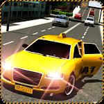 New York Crazy Taxi Ride 3D Icon