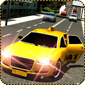 Crazy City Taxi Rush 3D