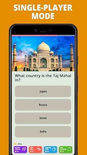 Free Trivia Game. Questions & Answers. QuizzLand. apktram screenshots 1