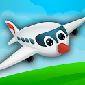 Fun Kids Planes Game icon