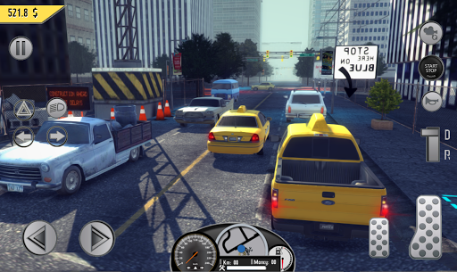 Real Taxi Sim 2018 3.1 screenshots 21