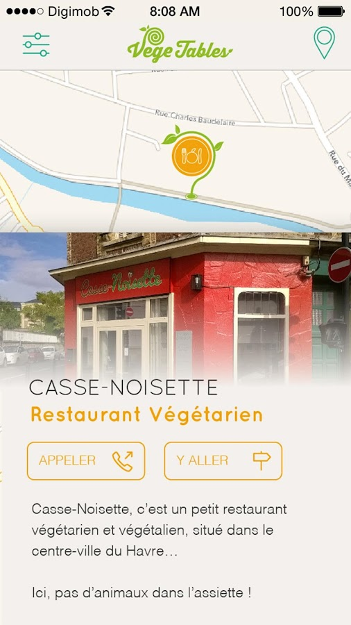 Vege Tables – Capture d'écran