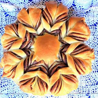 Nutella Brioche Flower Bread Recipe