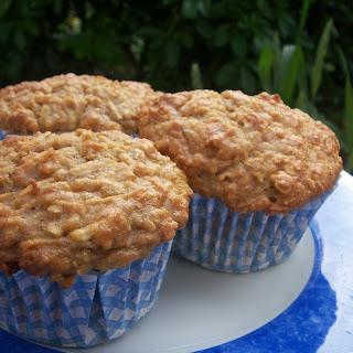 Low Fat Apple Oatmeal Muffins Recipe