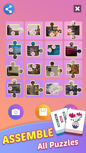 Mahjong Tours: Free Puzzles Matching Game 1.59.5010 screenshots 5
