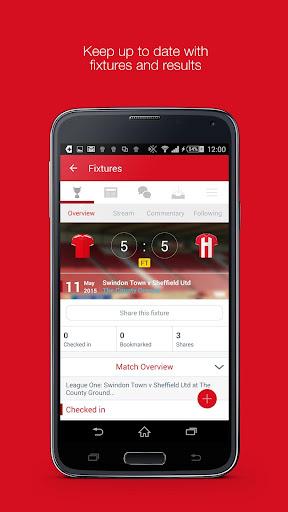 Fan App for Swindon Town FC