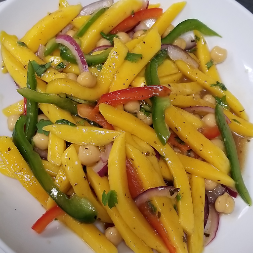 Mango & Chickpea Salad
