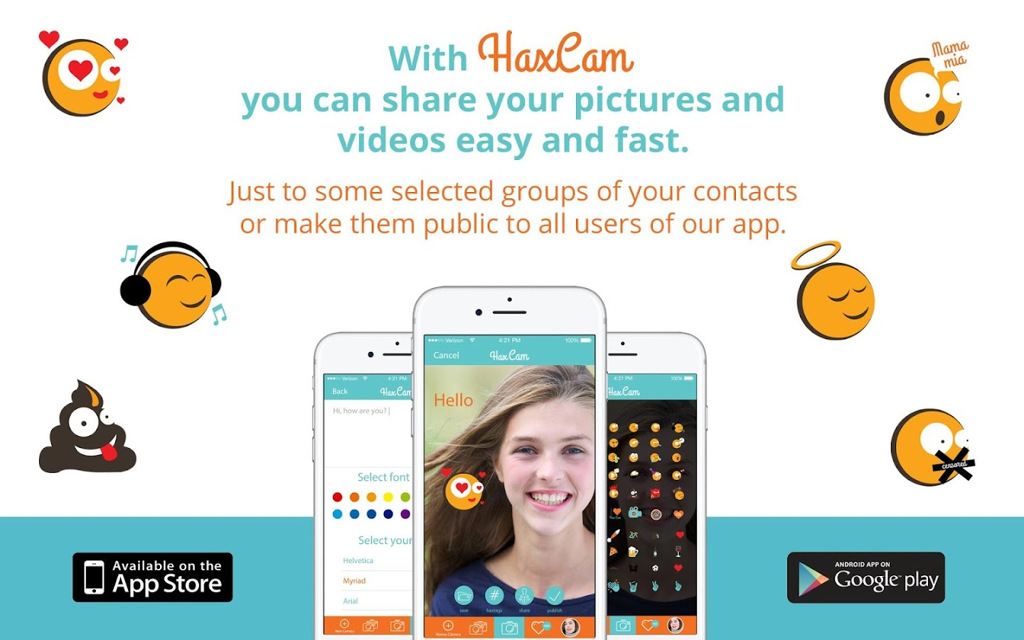 HaxCam- screenshot