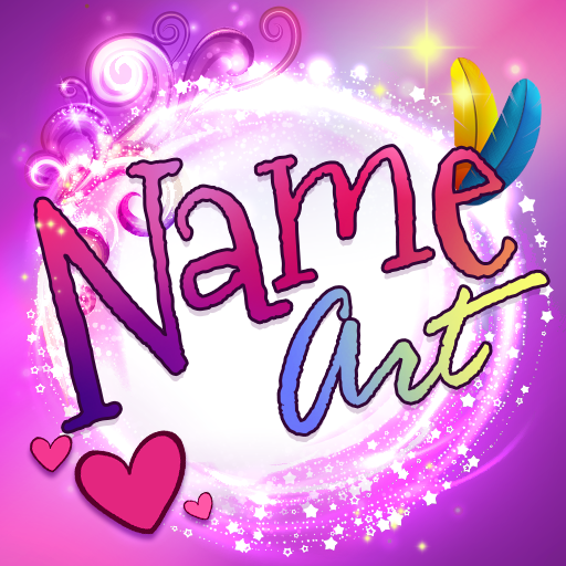 Name Art & Name Live Wallpaper Icon