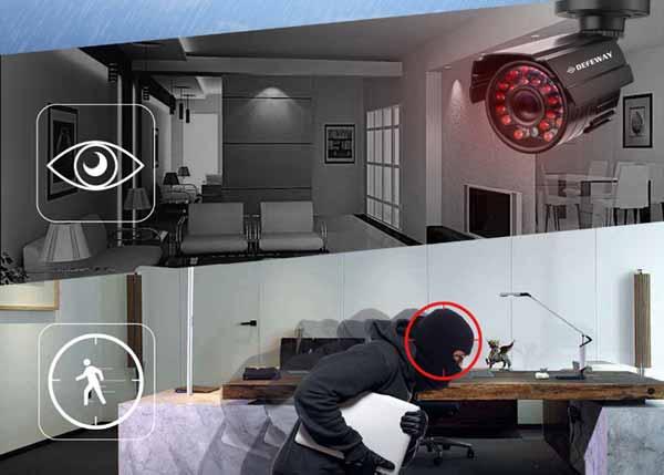 Chiếc camera báo trộm có thể rất thông minh, phát hiện và xác định được kẻ gian