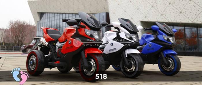 Xe mô tô điện thể thao cho bé 518 1