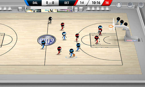 Stickman Basketball 2017 App Latest Version Download For Android and iPhone 2