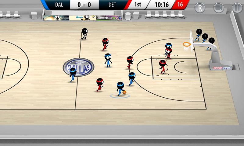 Stickman Basketball 2017 screenshot #2