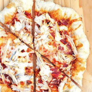 BBQ Chicken Pizza.