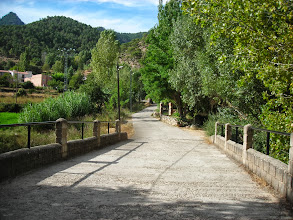 Photo: Camino de subida a la aldea