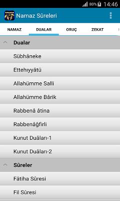 İslam'ın Şartları - screenshot