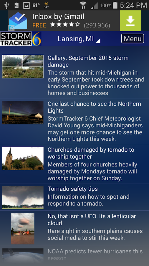 StormTracker 6 - Weather First- screenshot