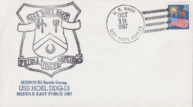 Photo: 1987-10-19 Missouri Battle Group / Middle East Force 1987