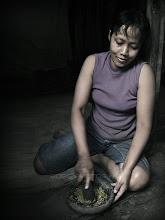 Photo: かいだん ころげおちた 腰 痛た カメラ無事 らっき〜^^ Photo at Indonesia