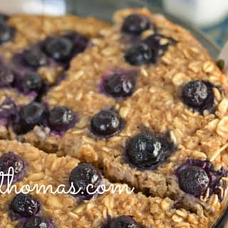 Blueberry Baked Oatmeal.