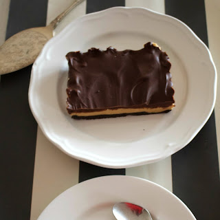 No bake Oreo peanut butter chocolate tart