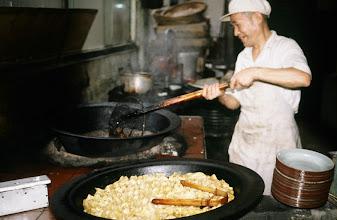 Photo: 10998 上海/湖浜点心店/台所