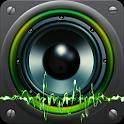 Higher volume sound booster icon