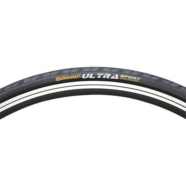 Continental Ultra Sport II Tire 700x32 Steel Bead Black