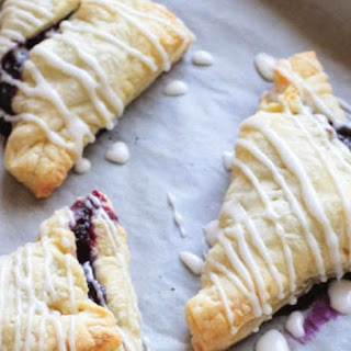 Simple Blueberry Turnovers