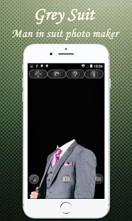 Šedý oblek - náhled