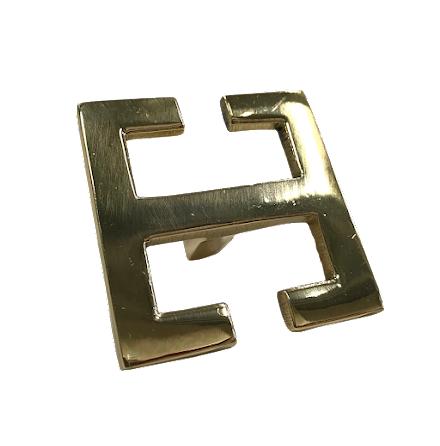 Handtag - Greek key, Mässing