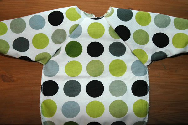 Free Baby Projects Bib Long Sleeved Tutorial Amp Pattern