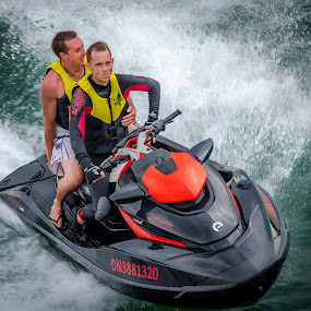Cruisin'  by Frank Kruller - Sports & Fitness Watersports ( lake ontario, pwcwatersports, watersports, splash, jetski )