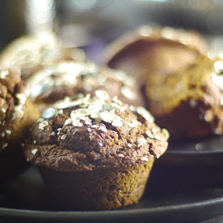 Pumpkin Molasses Breakfast Muffins